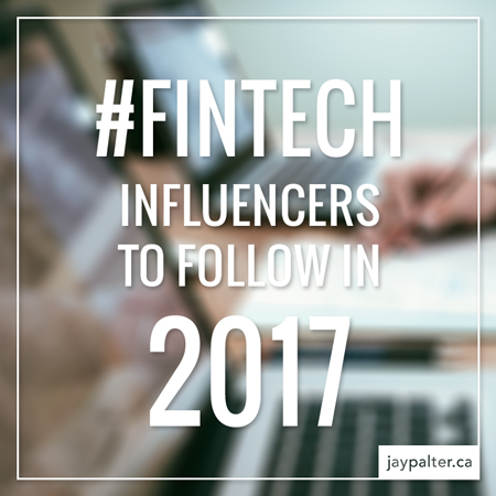 Fintech influencers 2017