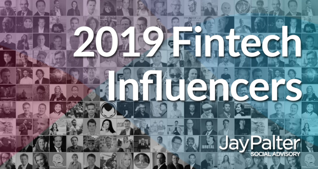 Fintech influencers to follow for 2019 - Jay Palter